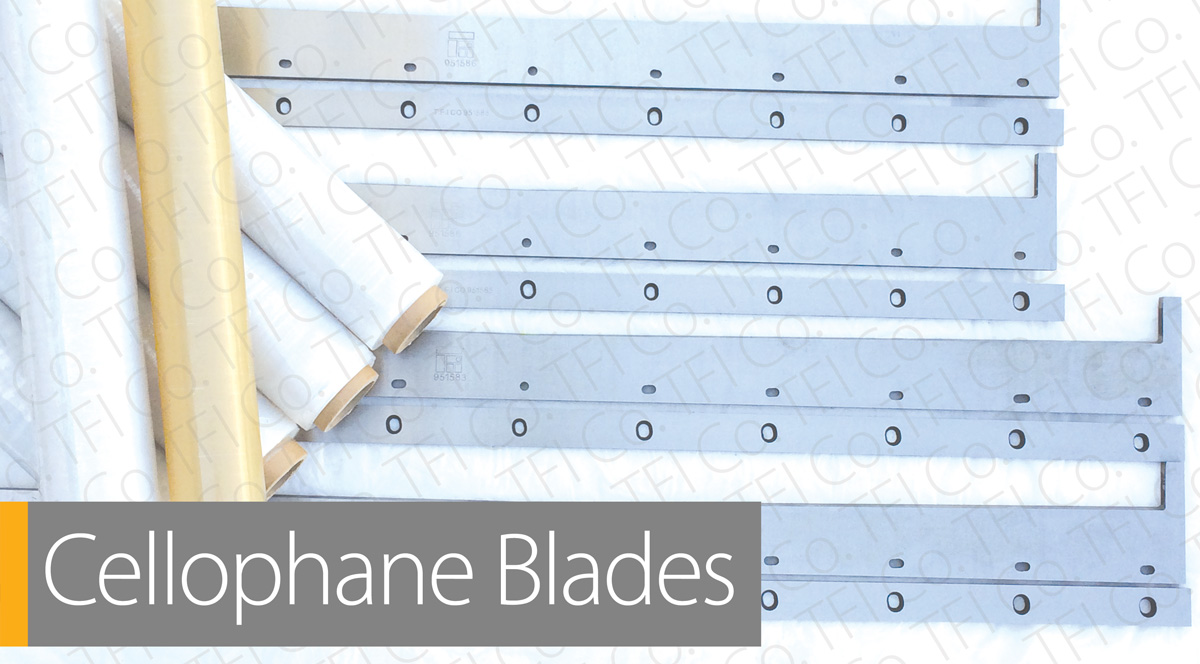 TFI Co. UAE steel blades manufacturer تيغه هاي فولادي Machine Knives Knife برش تيز برنده پایا ابزار سازان  cellophane blade for packaging industry
