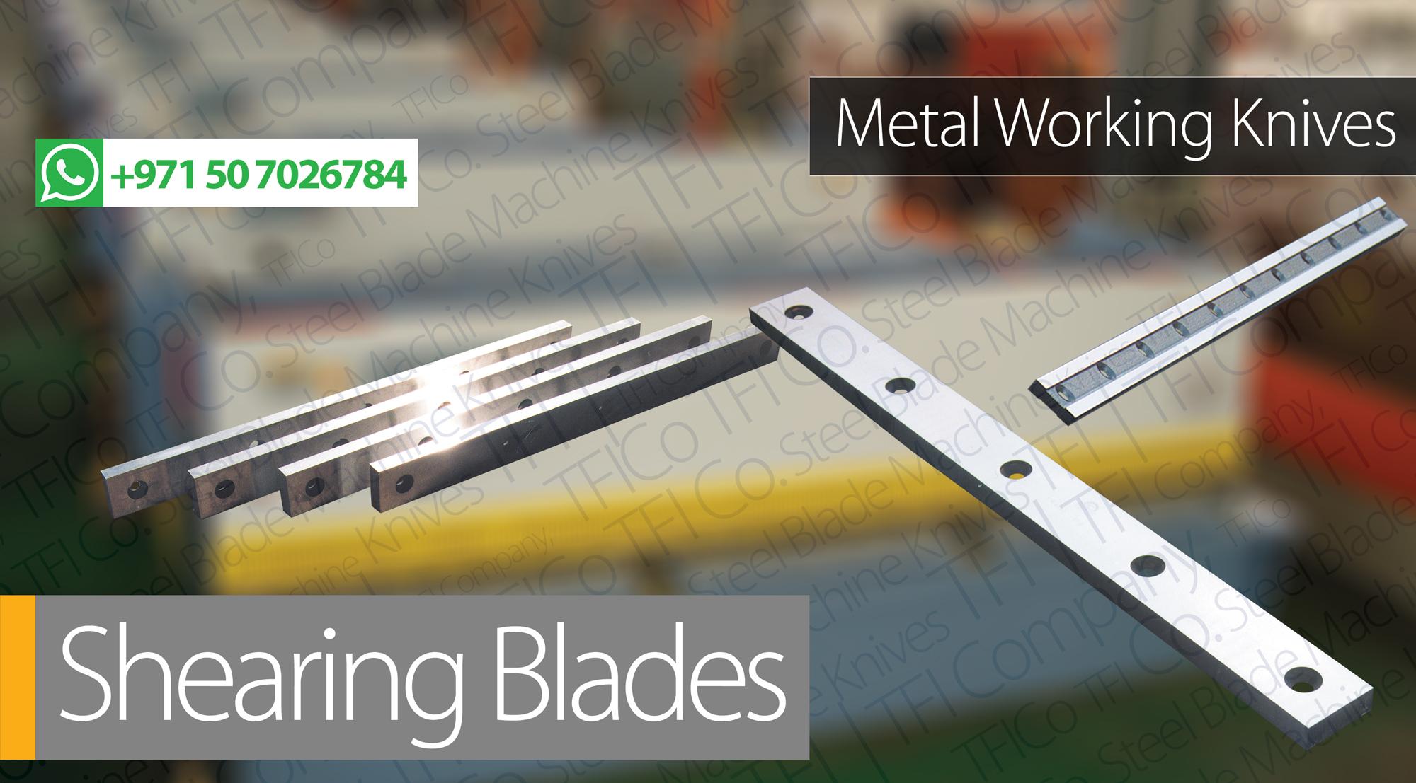 2 Cutting Edge | Shearing Blades